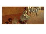 Danseuses Montant un Escalier Giclee Print by Edgar Degas