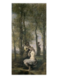 La Toilette Giclee Print by Jean-Baptiste-Camille Corot