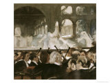Ballet Scene from Mayerbeer's Roberto Il Diavola Giclee Print by Edgar Degas