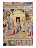 Adoration of the Three Kings Giclee Print by  Fra Angelico