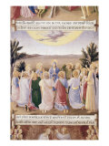 The Ascension Giclee Print by  Fra Angelico