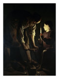 St. Joseph the Carpenter Giclee Print by Georges de La Tour