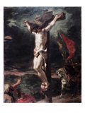 Crucifixion Giclee Print by Eugene Delacroix