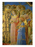 The, Detail Coronation of the Virgin Giclee Print by Fra Angelico