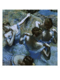 Blue Dancers Giclee Print by Edgar Degas