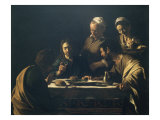 Supper at Emmaus Premium Giclee Print by  Caravaggio