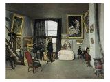 The, 9 Rue de la Condamine Artist's Studio Giclee Print by Frederic Bazille
