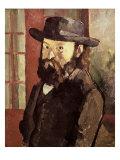 Self-Portrait Giclee Print by Paul Cézanne