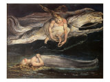 Divine Comedy: Pity Giclee Print by William Blake