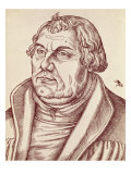 Martin Luther Giclee Print by Lucas Cranach the Elder