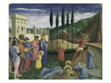 The Martyrdom of Saints Cosmas and Damian Giclee Print by  Fra Angelico