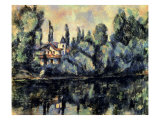 Shores of Marne Giclee Print by Paul Cézanne