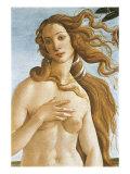 The, Detail Birth of Venus Giclée-Druck von Sandro Botticelli