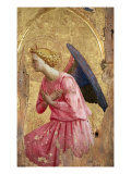 Adoration of an Angel Premium Giclee Print by  Fra Angelico