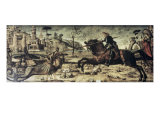St. George Killing the Dragon Giclee Print by Vittore Carpaccio