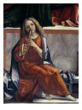 Child with Wind Instrument Giclee Print by Vittore Carpaccio