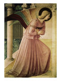 Angel of the Annunciation, Detail Giclee Print by Fra Angelico 