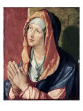The Virgin Praying Gicl&#233;e-Druck von Albrecht D&#252;rer