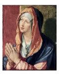 The Virgin Praying Giclée-Druck von Albrecht Dürer