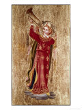 Angel with Trumpet Giclee Print by Fra Angelico 