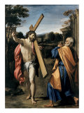 Christ Appearing to Saint Peter Giclee Print by Agostino Carracci