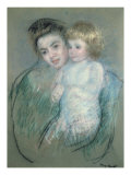 Mère et enfant Impression giclée par Mary Cassatt