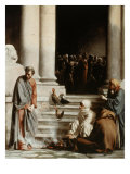 Peter's Denial Giclee Print by Carl Bloch