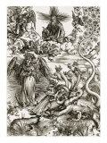 The Apocalyptic Woman Giclee Print by Albrecht Dürer