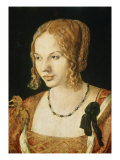 Portrait of a Venetian Lady Gicl&#233;e-Druck von Albrecht D&#252;rer