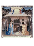 The Nativity Giclee Print by  Fra Angelico