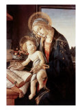 Madonna Del Libro Giclée-tryk af Sandro Botticelli