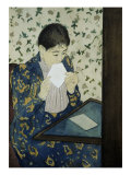 The Letter Giclee Print by Mary Cassatt