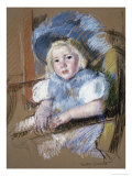 Simone Seated Giclee Print by Mary Cassatt