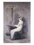 Woman Reading Giclee Print by Thomas Cowperthwait Eakins
