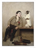 Begging Giclee Print by John George Brown