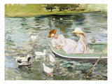 Eté Reproduction procédé giclée par Mary Cassatt