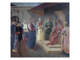 Christ Before Caiaphas Giclee Print by  Fra Angelico
