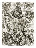 The Whore of Babylon Giclée-tryk af Albrecht Dürer