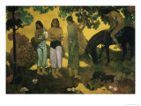 Harvest of Fruit Giclee Print by Paul Gauguin