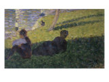 Study for Sunday on la Grande Jattte Giclee Print by Georges Seurat