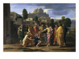 Christ Healing the Blind Giclee Print by Nicolas Poussin