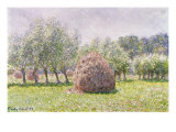 Haystack Giclee Print by Claude Monet