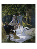 Luncheon on the Grass Giclee Print by Claude Monet