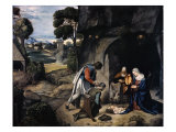 Adoration of the Shepherds Giclee Print by  Giorgione