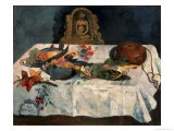 Still Life with Parrots Giclee Print by Paul Gauguin