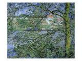 Paysage de la Seine Giclee Print by Claude Monet
