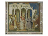 Cleansing of the Temple Giclee Print by Giotto di Bondone