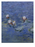 Nympheas-Detail Giclee Print by Claude Monet