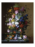 Bouquet of Flowers Giclee Print by George C. Lambdin