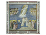 The Ascension Gicl&#233;e-Druck von Giotto di Bondone 
